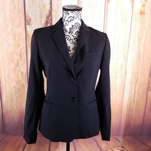 Banana Republic Black 2-Button Blazer B112